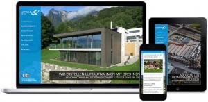 Luftbild24.ch WordPress Startseite